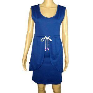 VFISH NWT Designer Royal Blue Sleeveless Dress XS